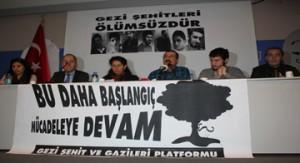 Gezi sehit ve Gazileri Platformu