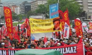 Bursada 1 Mays 2014