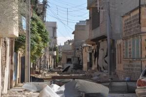 Kobane sehir savas