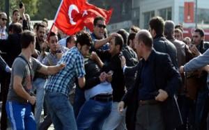 adanada polis eylemcilere tesekkur etti