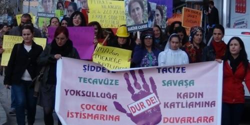Dersimli Kadınlar'dan 25 Kasım eylemi