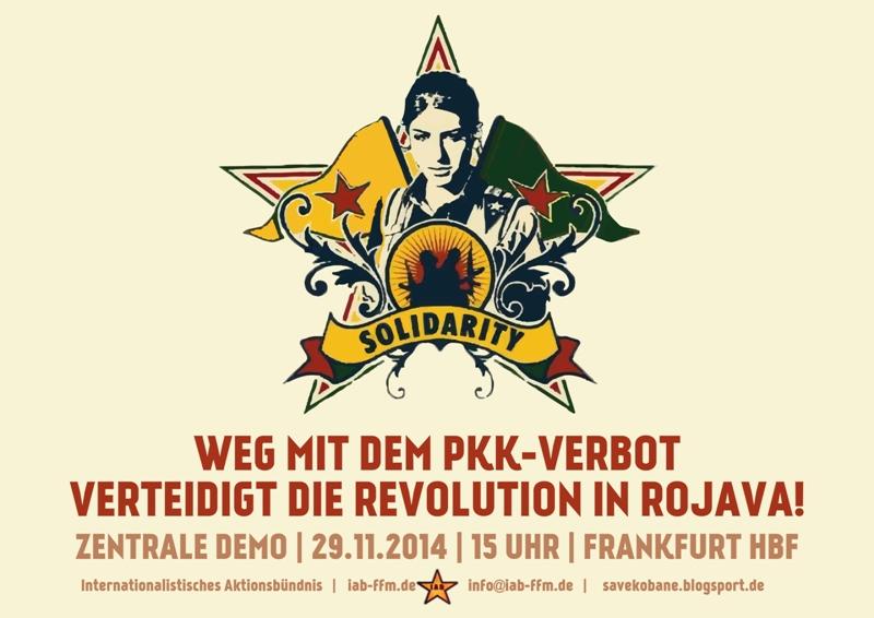 PKK yasağı  derhal kaldırılmalıdır! - Rojava devrimini sahiplen!