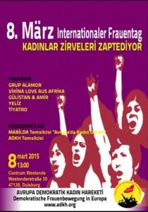 8 Mart Kadınlar Gecesinde Buluşalım!