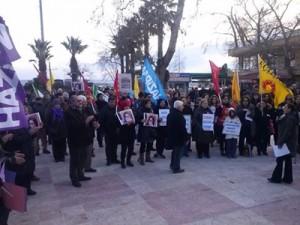 altinoluk ozgecan protesto 2