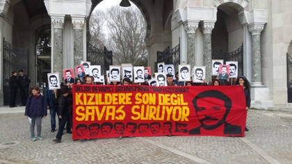 İstanbul Üniversitesi'nde Kızıldere anması