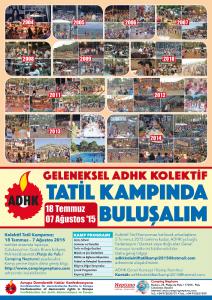 GELENEKSEL ADHK KOLEKTİF TATİL KAMPINDA BULUŞALIM!