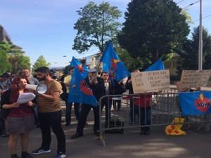 isvicre dhf gozalti protesto 2