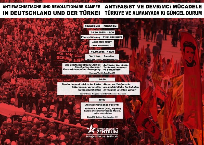 Anti-Faşist ve Devrimci Mücadele, Türkiye ve Almanya daki Güncel Durum