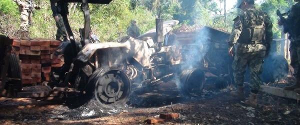 Paraguay: Gerilla Savaşı Giderek Büyüyor