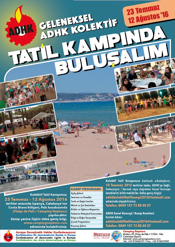 ADHK KOLEKTİF TATİL KAMPINDA BULUŞALIM!