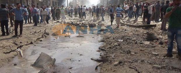 Qamişlo'da Bombalı Saldırı, Arama- Kurtarma Çalışmaları Sürüyor