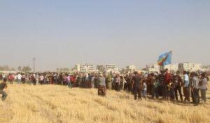 kobane duvar protesto