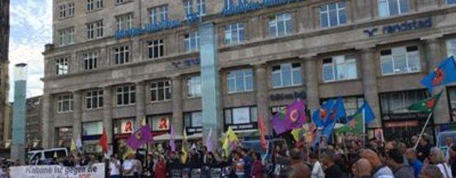 Köln'de Antep katliamı protesto edildi