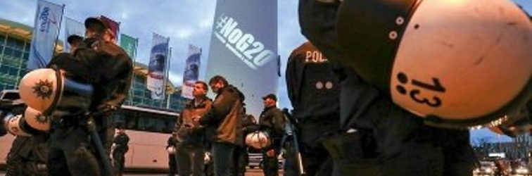 Hamburg'da G20 ablukası!