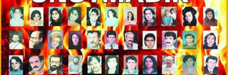 ADHK; 24. Yılında Sivas Katliamı'nı Unutmadık Unutturmayacağız!