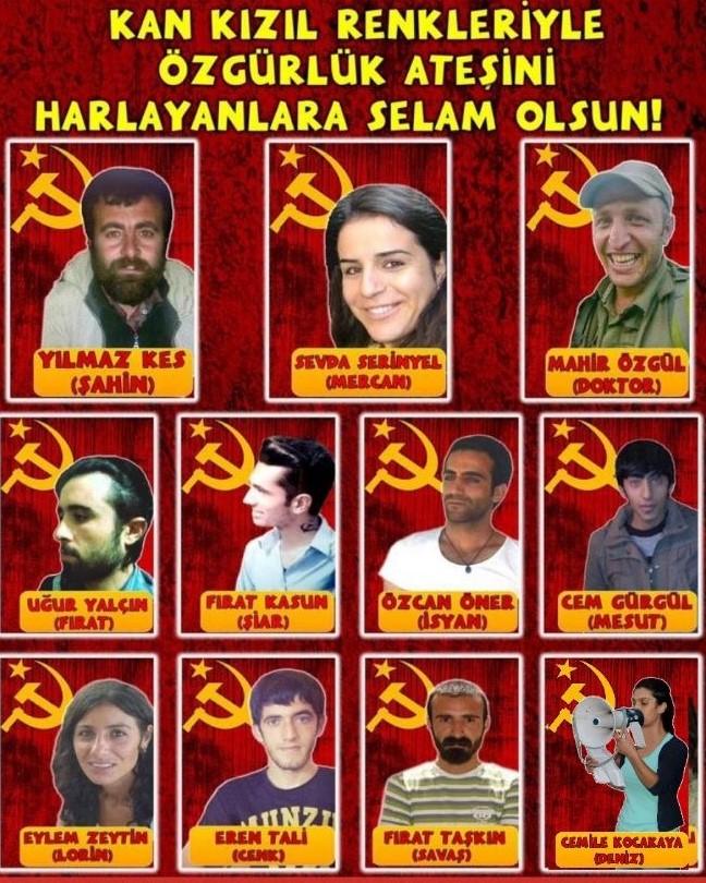 Komünizm Savaşçıları Ölümsüzdür!