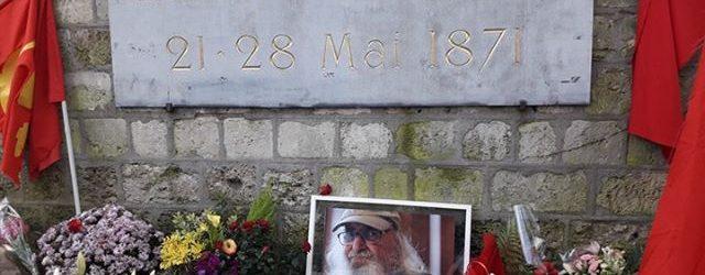 Fransız Komünist Partisi Başkanı, Pier Yoldaş, Komünarların yanına sonsuzluğa uğurlandı
