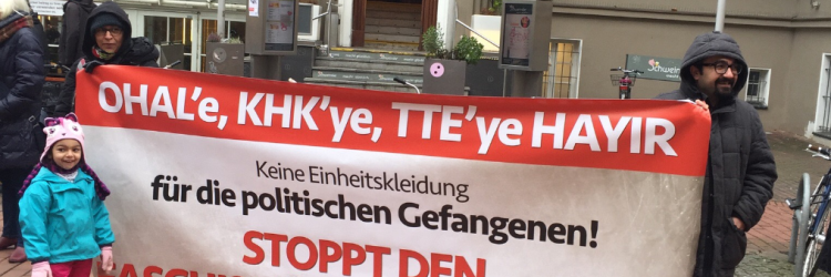 Hamburg;  OHAL'e, KHK'ye, TTE Hayır