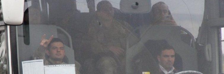 Binlerce asker yetmedi: Efrin'e 11 otobüs JÖH