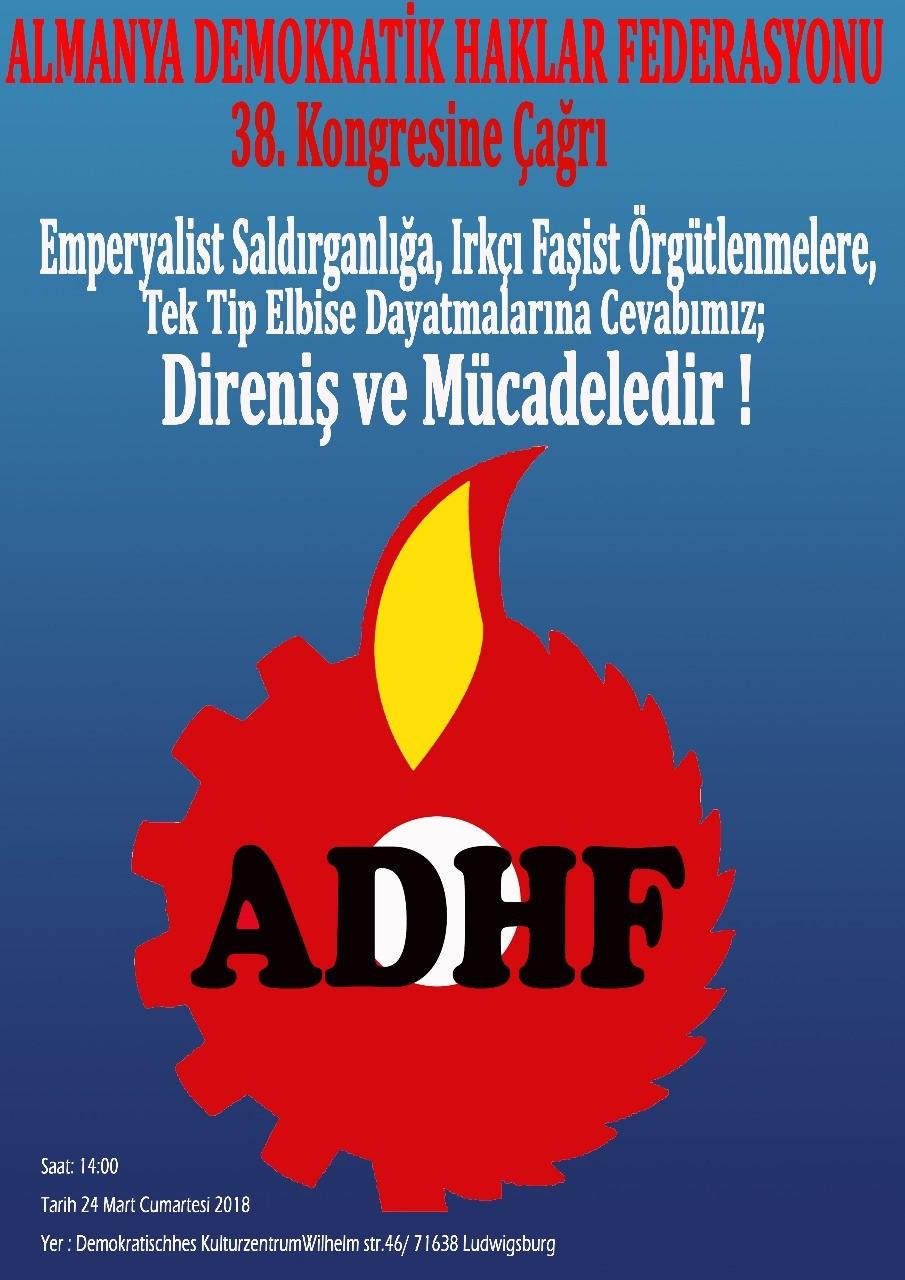 ADHF 38. Kongresinde Buluşalım!
