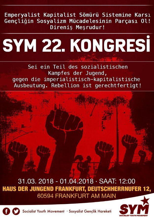 Sosyalist Gençlik Hareketi 22. Kongresinde Buluşalım!