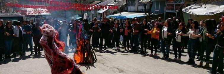 DDHD'den Dersim'de coşkulu Newroz kutlaması