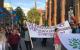 Hamburg'da Kayyum atamaları protesto edildi