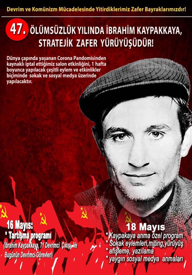 Komünist Önder İbrahim Kaypakkaya, Stratejik Zafer Yürüyüşümüzdür!