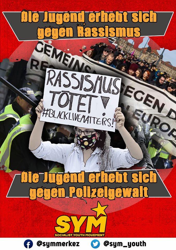 Irkçılığa karşı mücadele kapitalizme karşı mücadele ile başlar!
